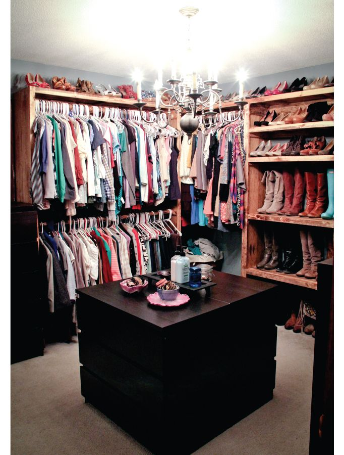 My master closet walk in closet design closet ideas - How to turn a bedroom into a closet ...