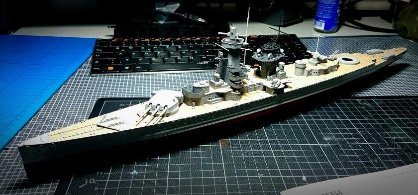 """Work in progress 2 - """"Admiral Graf Spee """""""