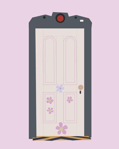Boo De Puerta Inc De Monster Dormitorio De Nina Monsters Inc Monsters Inc Doors Monsters Ink