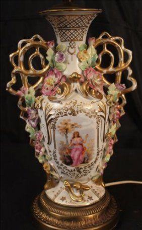 A Pair Of Meissen Vases On Meissen Porcelain Pinterest Porcelain