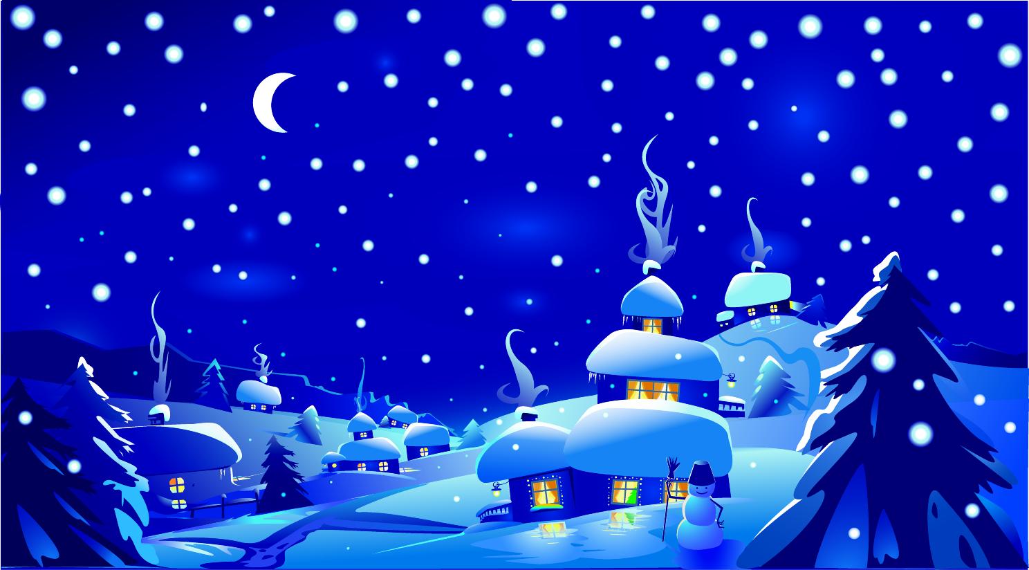 Fondo De Pantalla 3d De Navidad De Santa Vas De Luna Hd: FONDOS PLATEADOS - Buscar Con Google