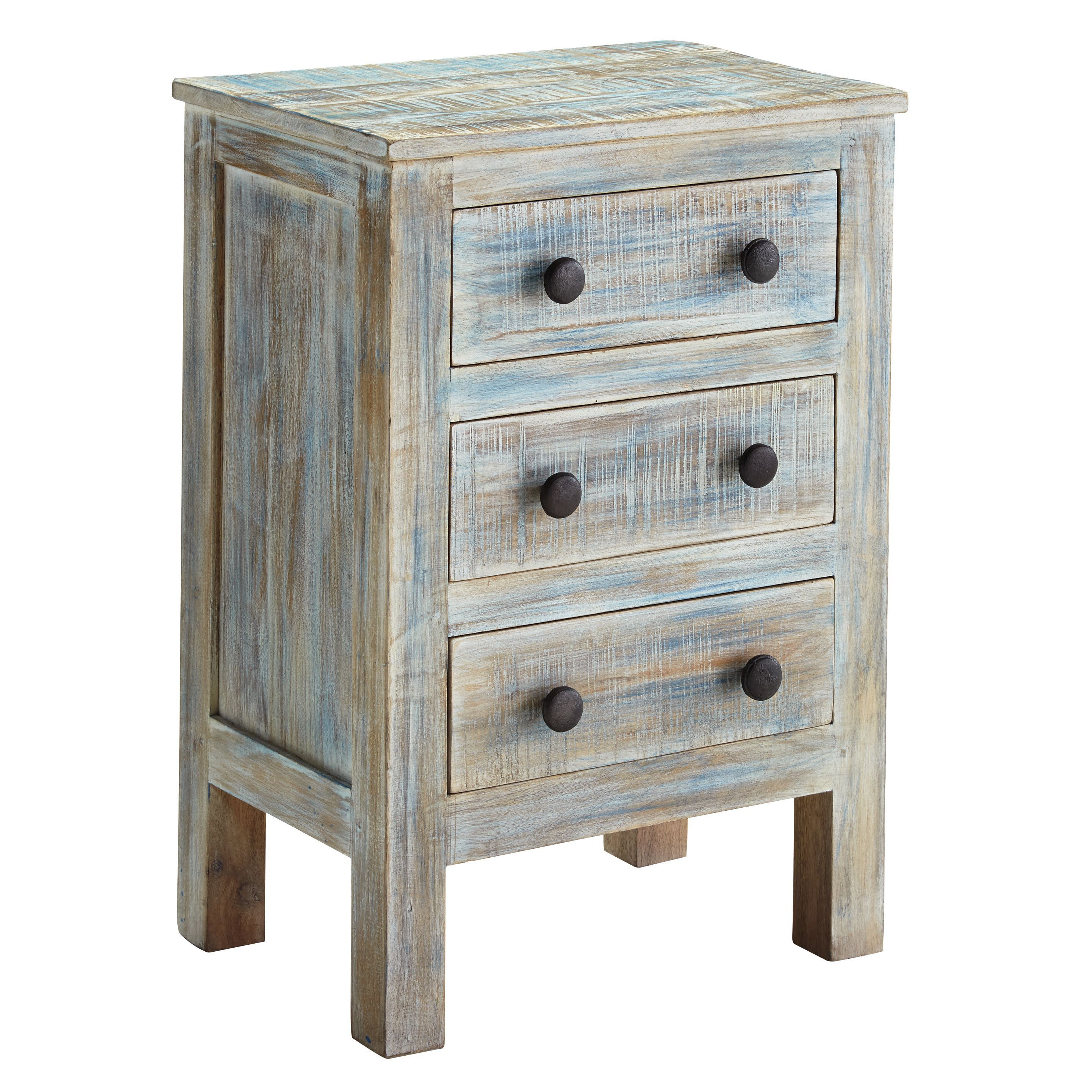 Signature Design By Ashley Charlowe 3 Drawer Night Stand Overstock