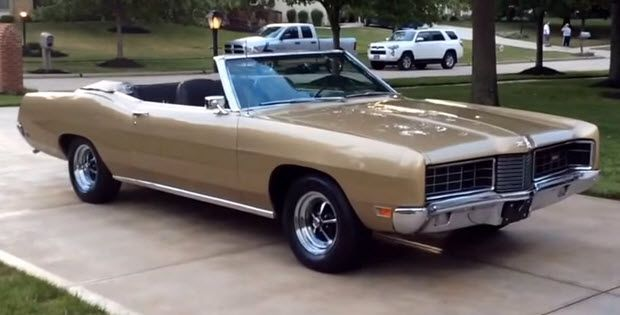 1970 Ford Xl Convertible Check Out This Video Classic Cars