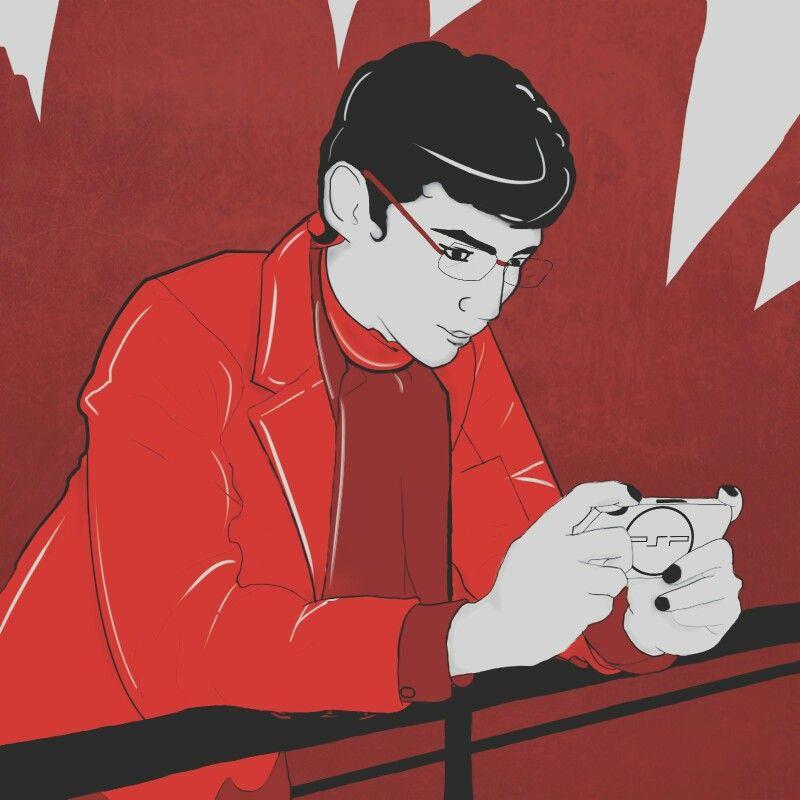 Ilustración a dos tintas Estilo: mangas