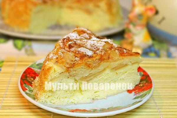Рецепт яблучного пирога з 166