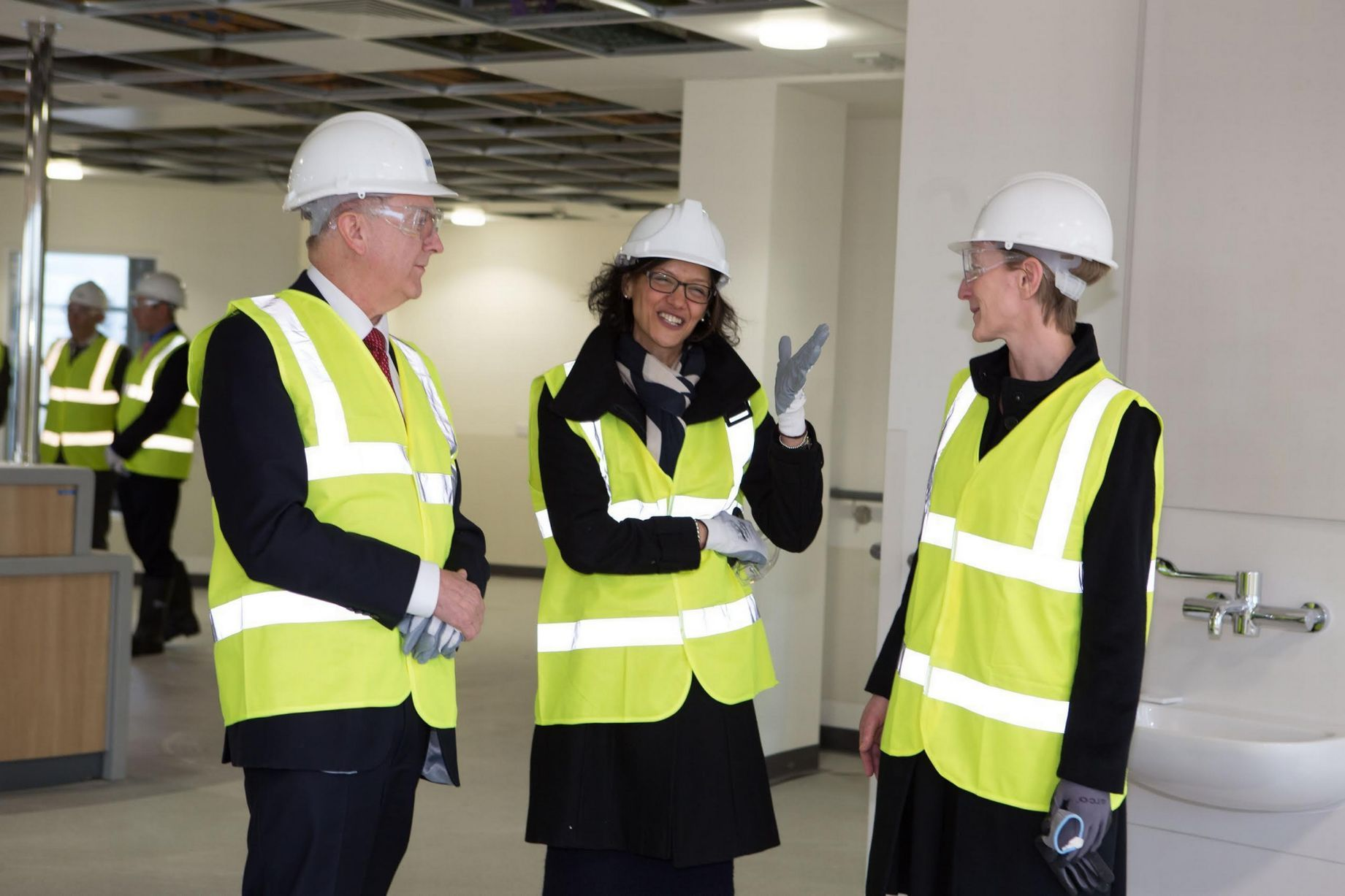 Nhs boss visits cramlingtons new multi million pound