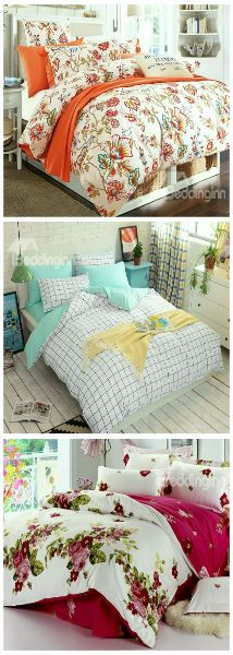 100 White Cotton Bedding Sets from Beddinginn.com.