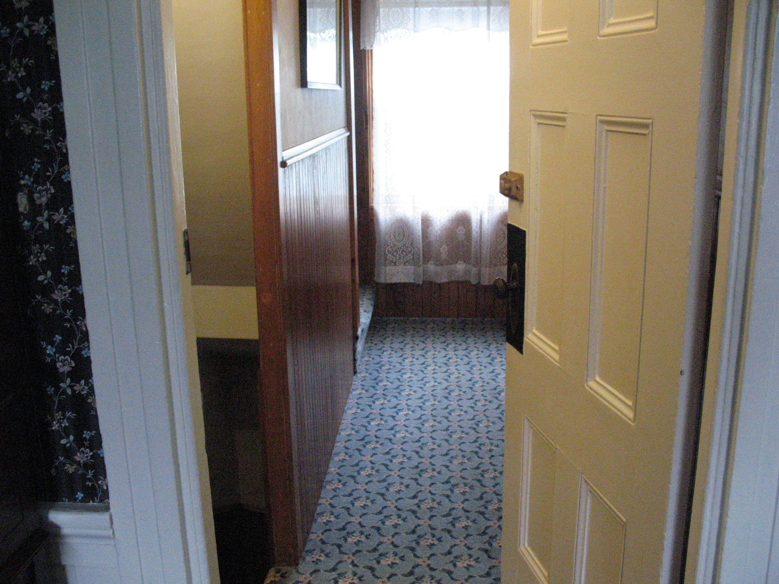 Lizzie Borden Bed Breakfast Hallway Down To Basement