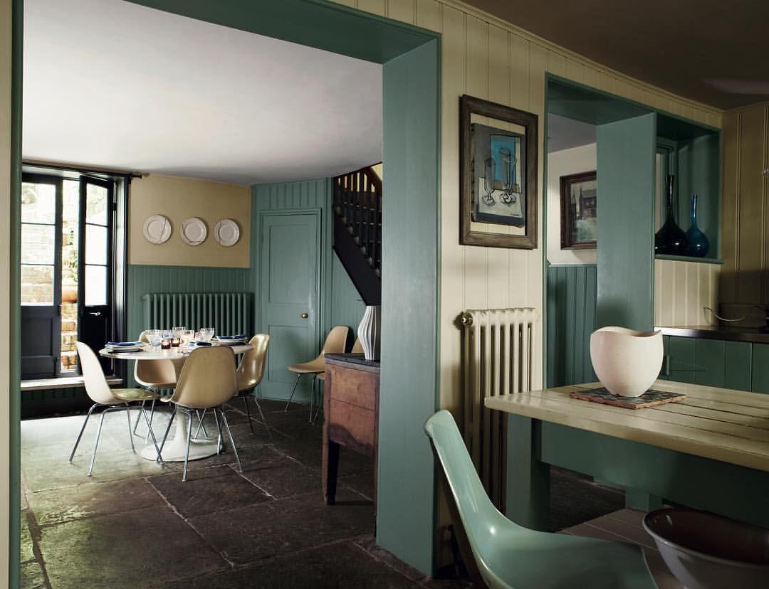 Home interior design farbkombinationen  likes  comments  farrow u ball farrowandball on
