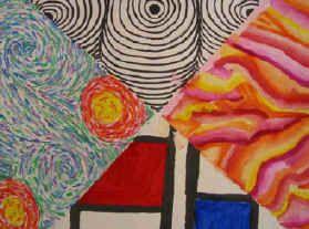 Lesson Plan: Pinwheel Modern Art Styles