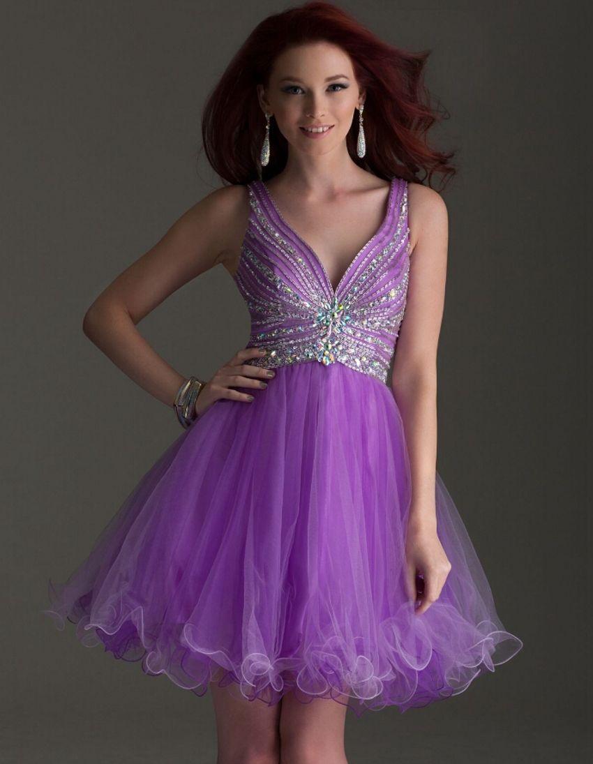 Light Purple Elegant Luxury Sequin Sexy Short robe de Cocktail ...