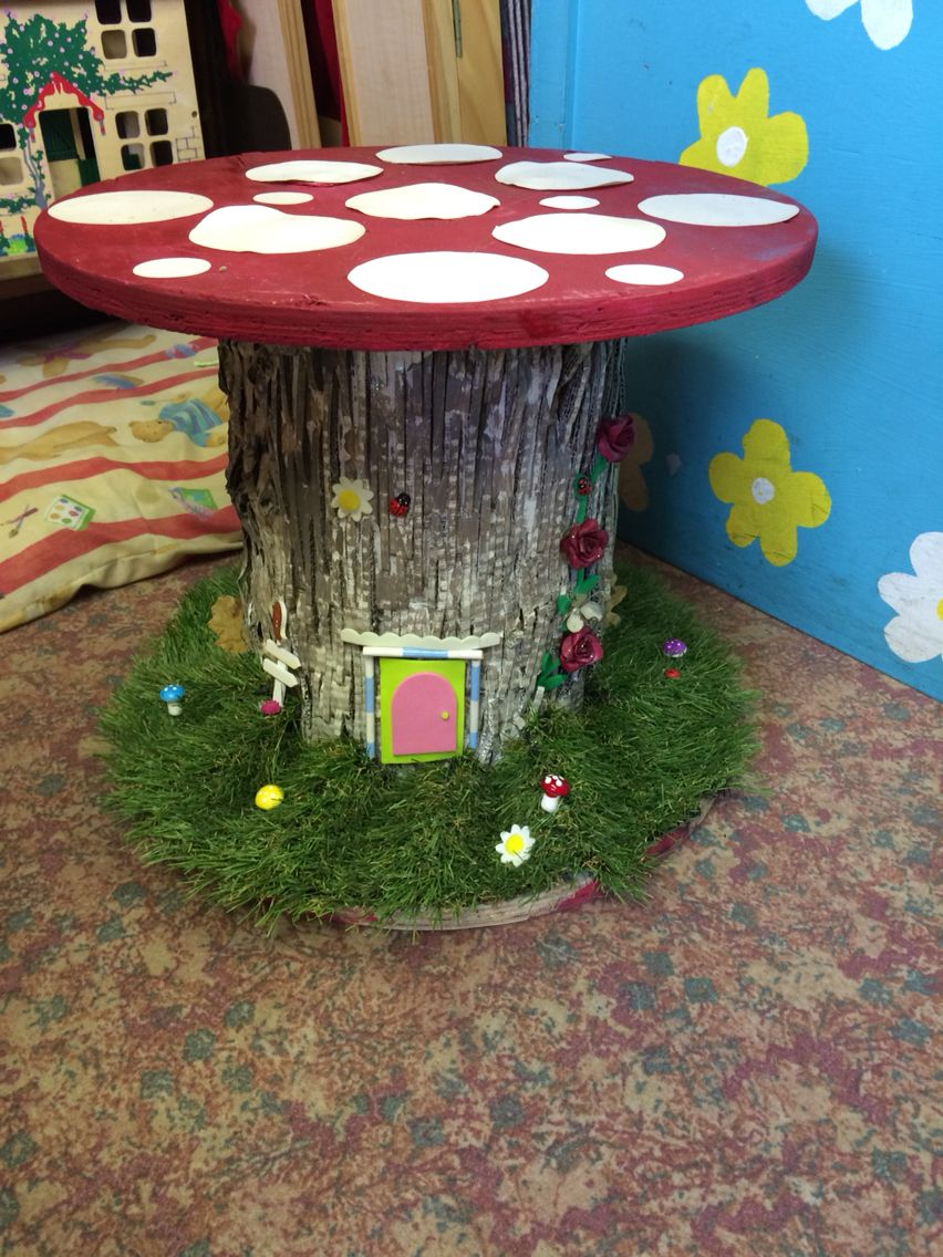 Small world cable reel By amazing TA Outdoor play Pinterest