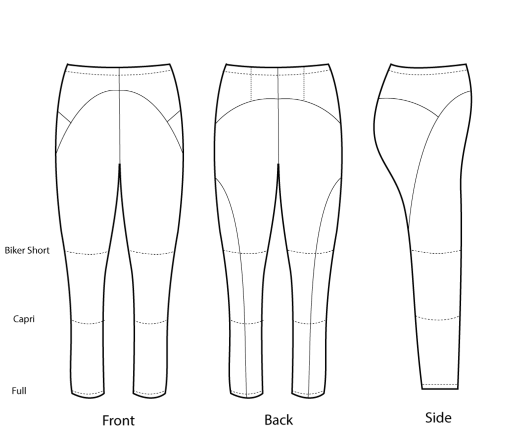 FehrTrade Steeplechase: These leggings have no inseams! Instead, a ...
