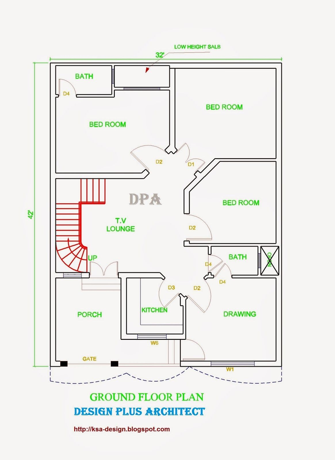 Ground Floor Home Design In Pakistan House Map Home Map Design House Layout Plans