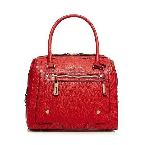8a17cea710d0 J by Jasper Conran Red grained grab bag