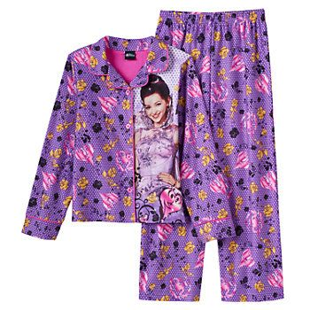 NWT Girl Sz 6-14 Disney Descendants Mal Uma Evie Nightgown Pajama