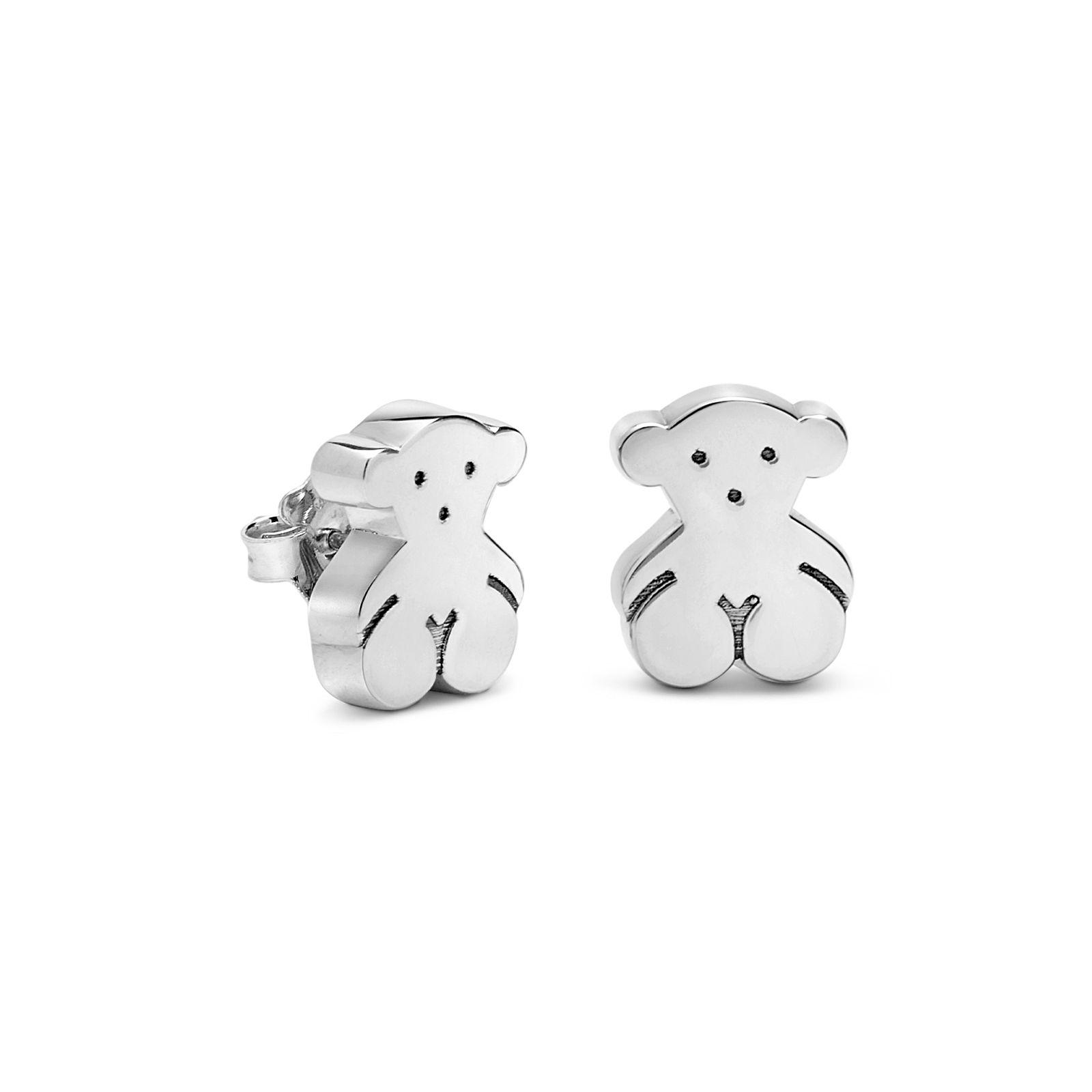 f92ccba0d12d Sterling silver TOUS Bear earrings