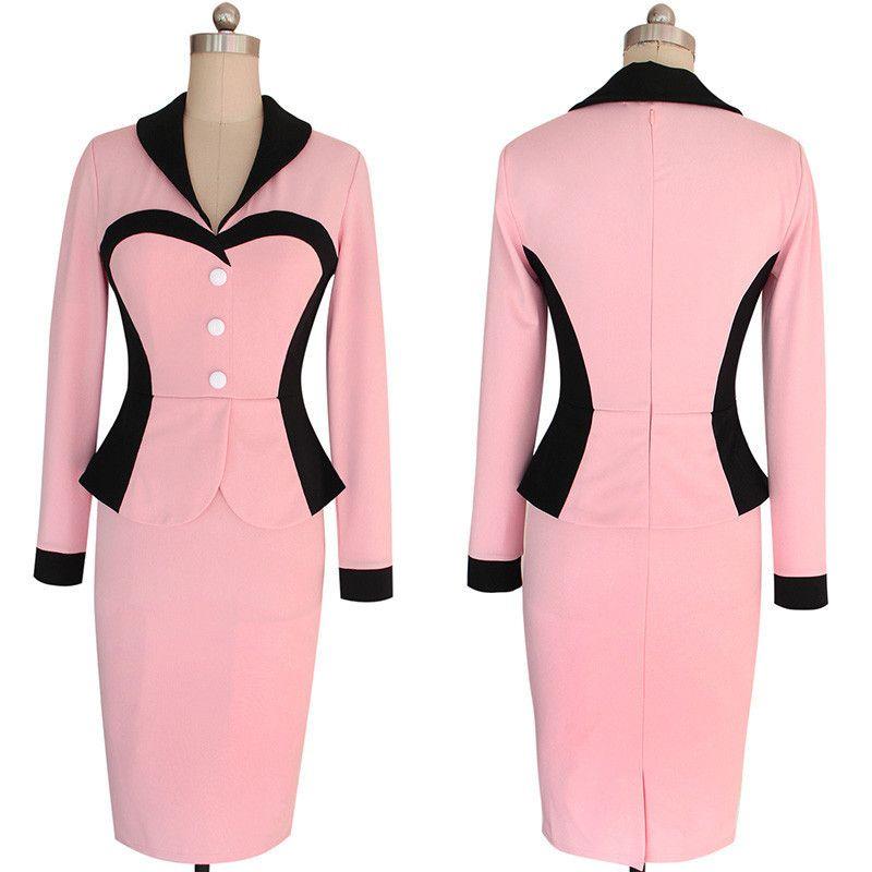 Aliexpress.com: Comprar 2016 mujer de manga larga vestido Formal de ...
