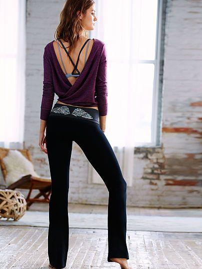 2117c6b196c0c4 The Most-Loved Yoga Pant - Victoria's Secret. Medium Short length ...