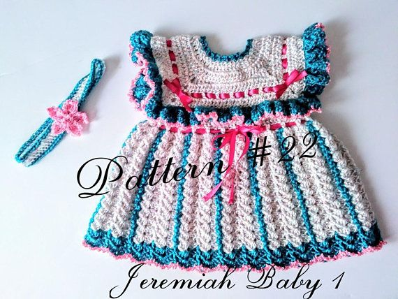 Crochet Pattern 22 Crochet Baby Dress Pattern Crochet Baby Girl