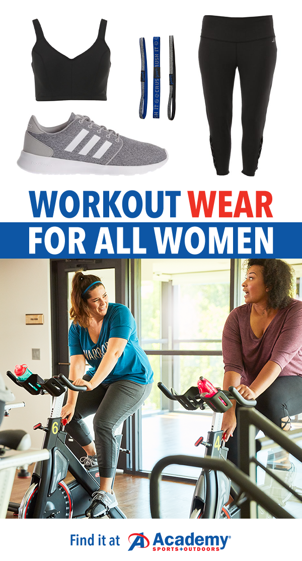 Academy Sports has fitness gear for all sizes including