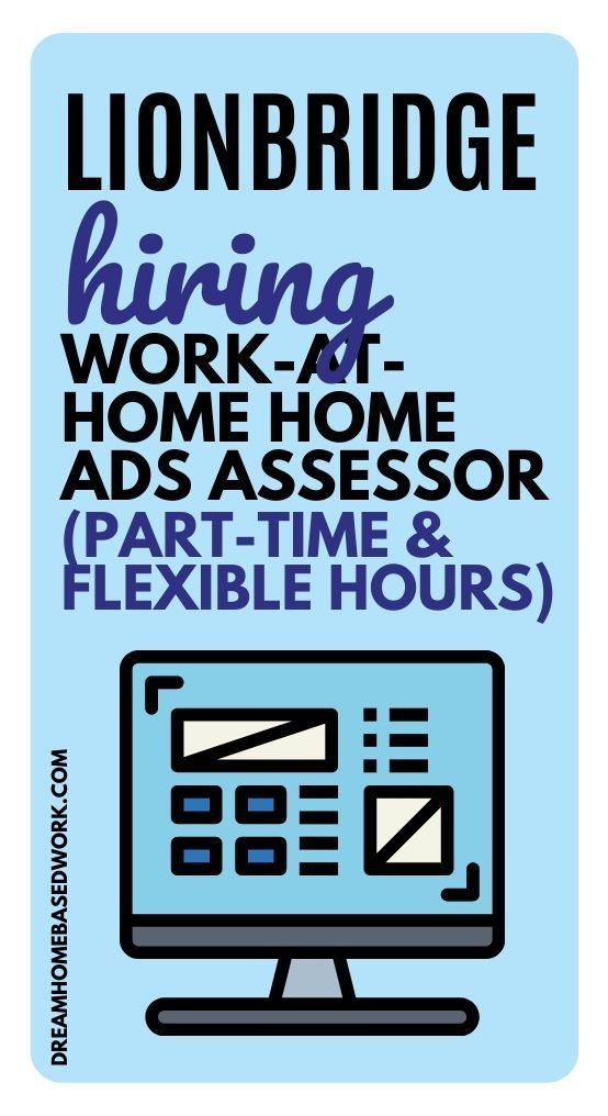 Part-Time and Flexible Work At Home Job
