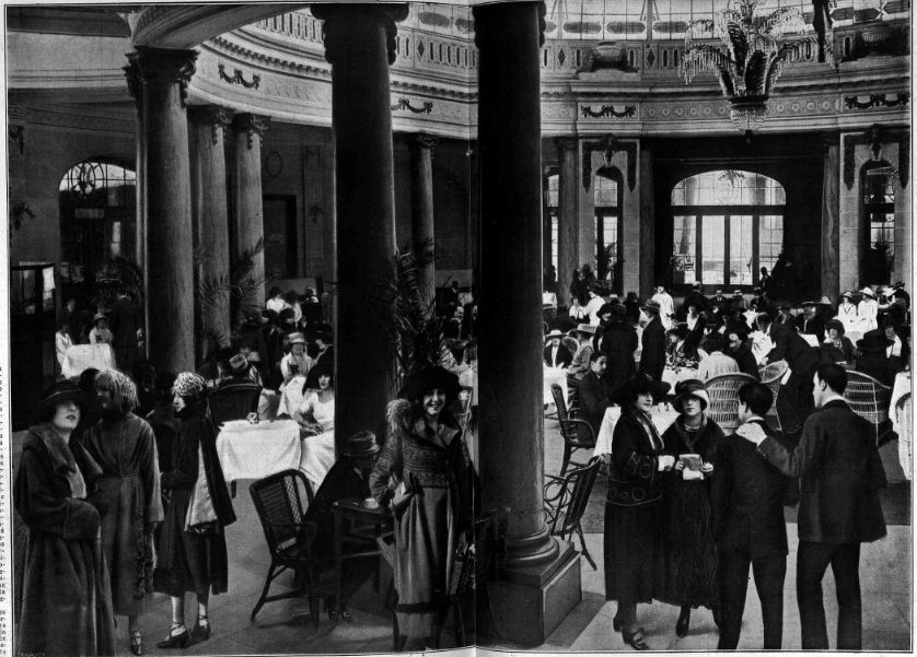 Hotel palace madrid a os 20 fotograf a de la revista la - Lamparas anos 20 ...