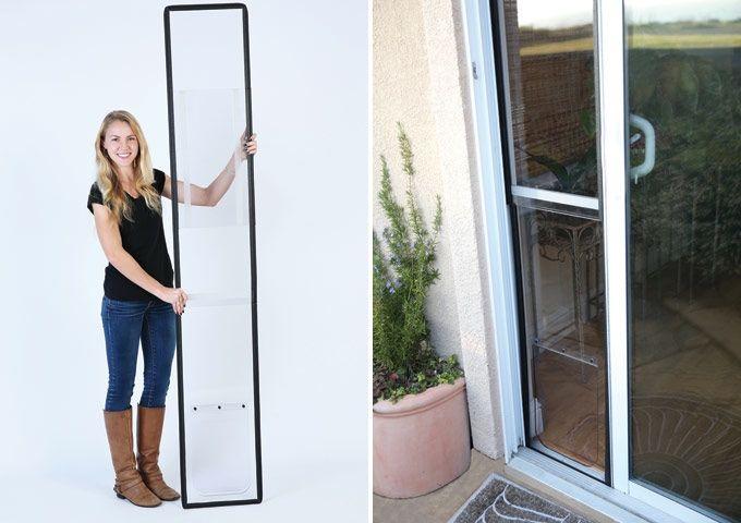 Pet Door For Sliding Glass Doors Easy Installation No Tools