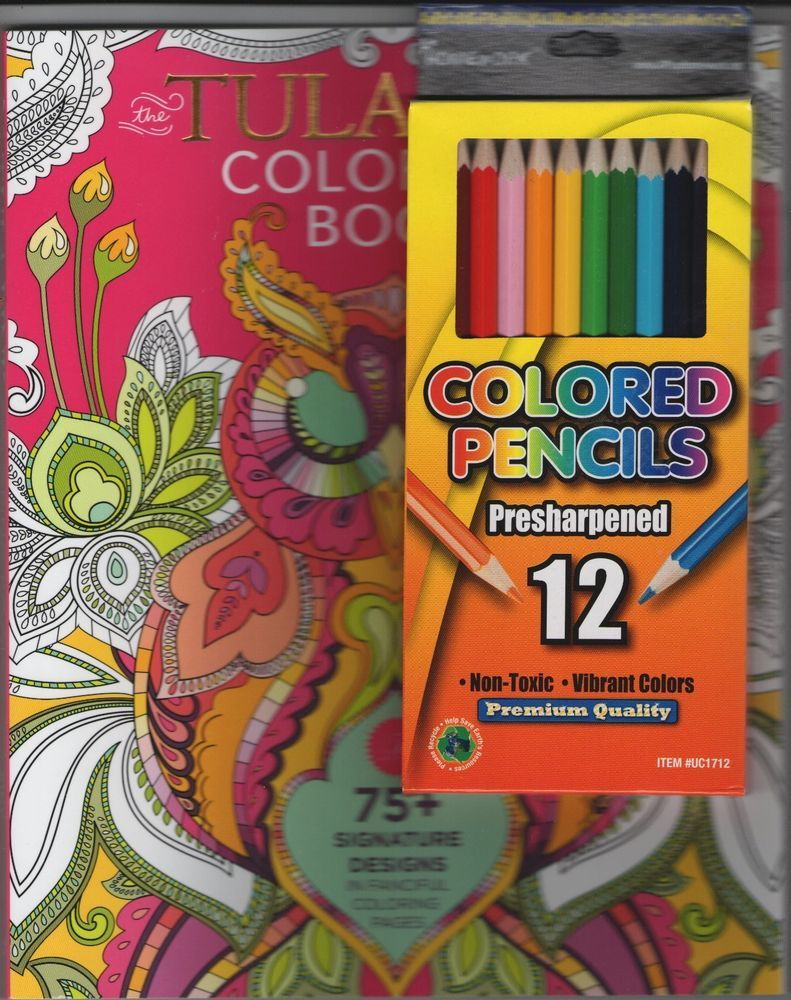 The tula pink coloring book - Adult Coloring Book With 12 Colored Pencils Tula Pink Coloring Book New Relax
