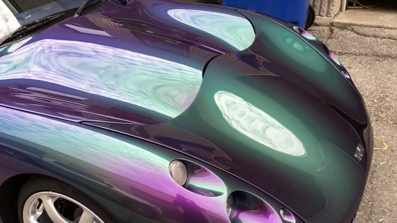 TVR Tuscan polished & protected Arctic Coating Porsche