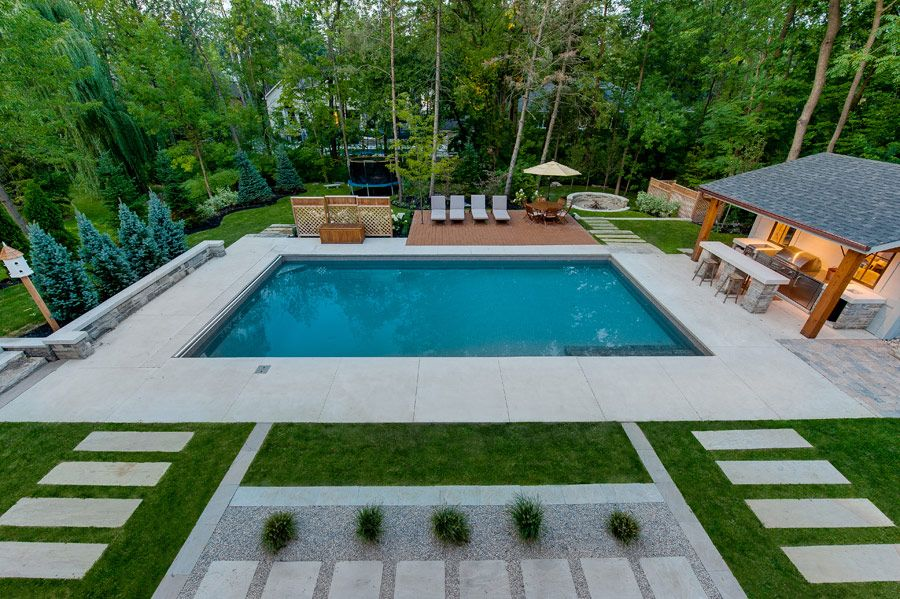 pool design // PCM Project & Construction Management Inc. - Your builder of new, luxury, custom built homes in Oakville and Mississauga. New Homes Oakville.