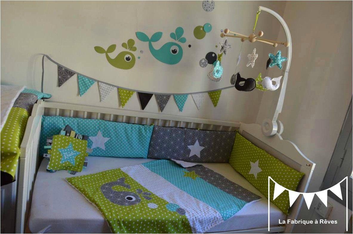 Deco Chambre Bleu Nuit Bebe In 2020 Toddler Bed Bed Chambre Enfant