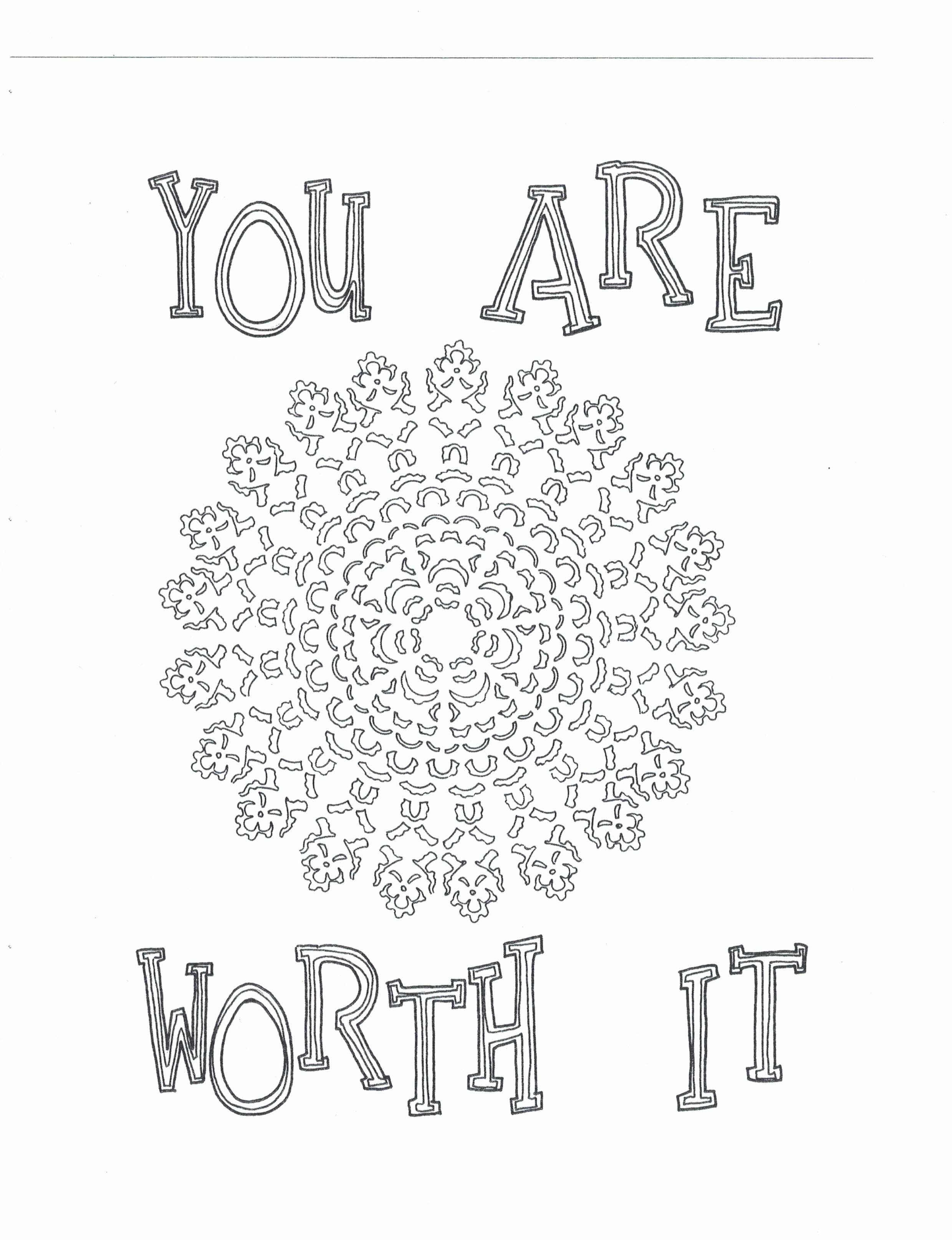 You Are Worth It Click Here To Download On Etsy S