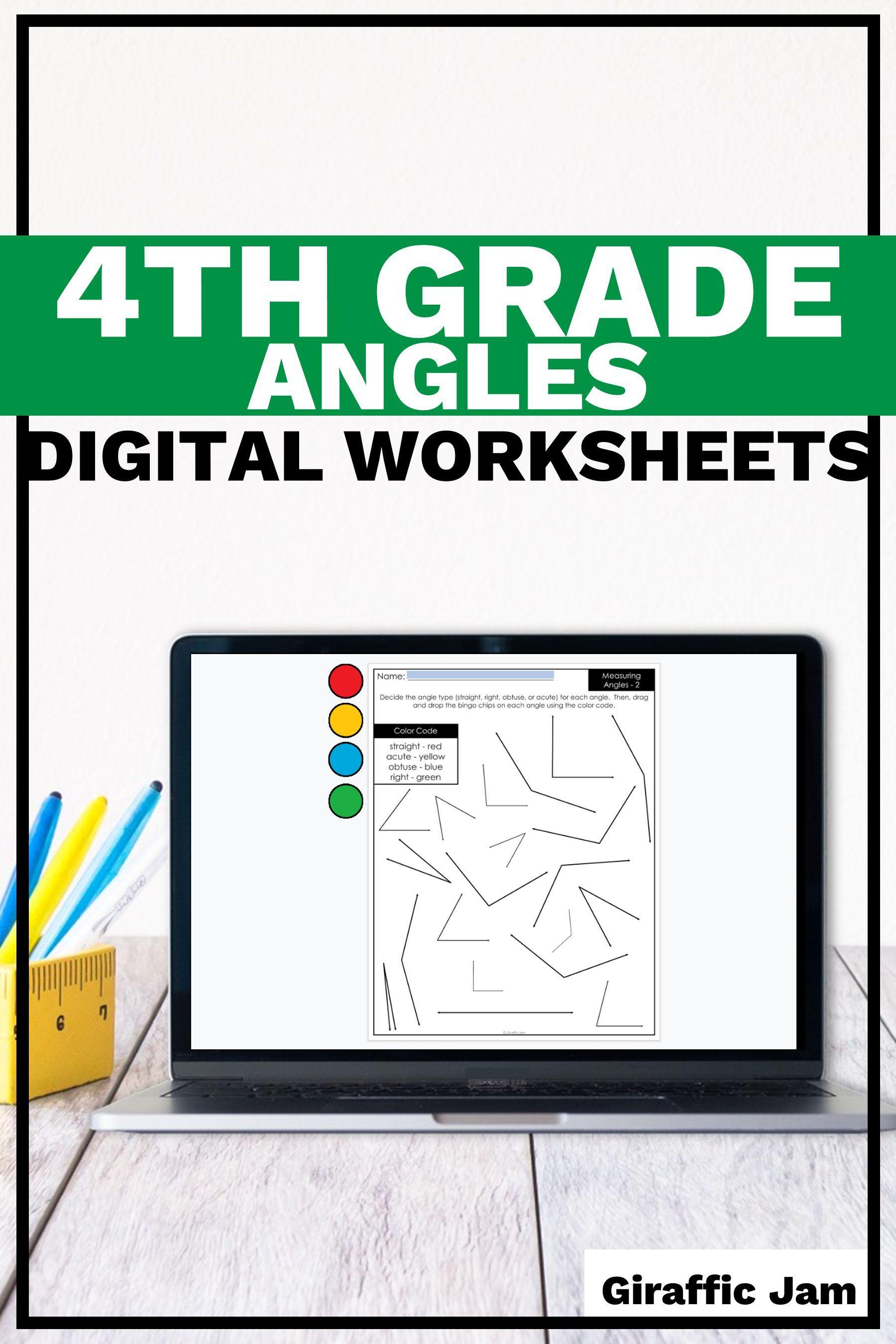 4th Grade Measurement Measurement Worksheets Angles Measuring Angles Digital Worksheets Measurement Worksheets Google Classroom Measurement Activities [ 2700 x 1800 Pixel ]