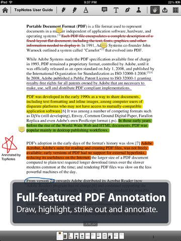 TopNotes Pro Take Notes, Annotate PDF & Sync Notebook
