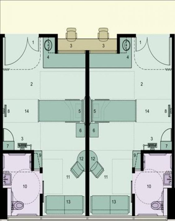 hospital bed drawing plan. a floor plan of the acuityadaptable singlebed rooms research shows that hospital bed drawing u