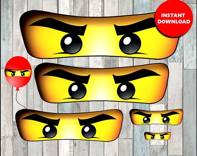 80 off ninjago eyes for bag balloon stickers lollipop