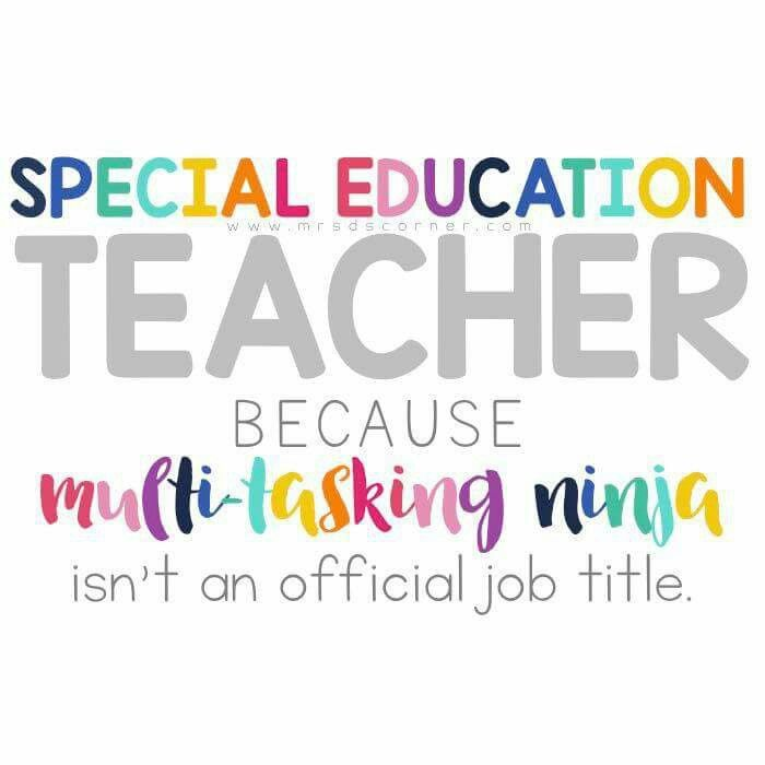 sped ninja special education teacher quotes special education