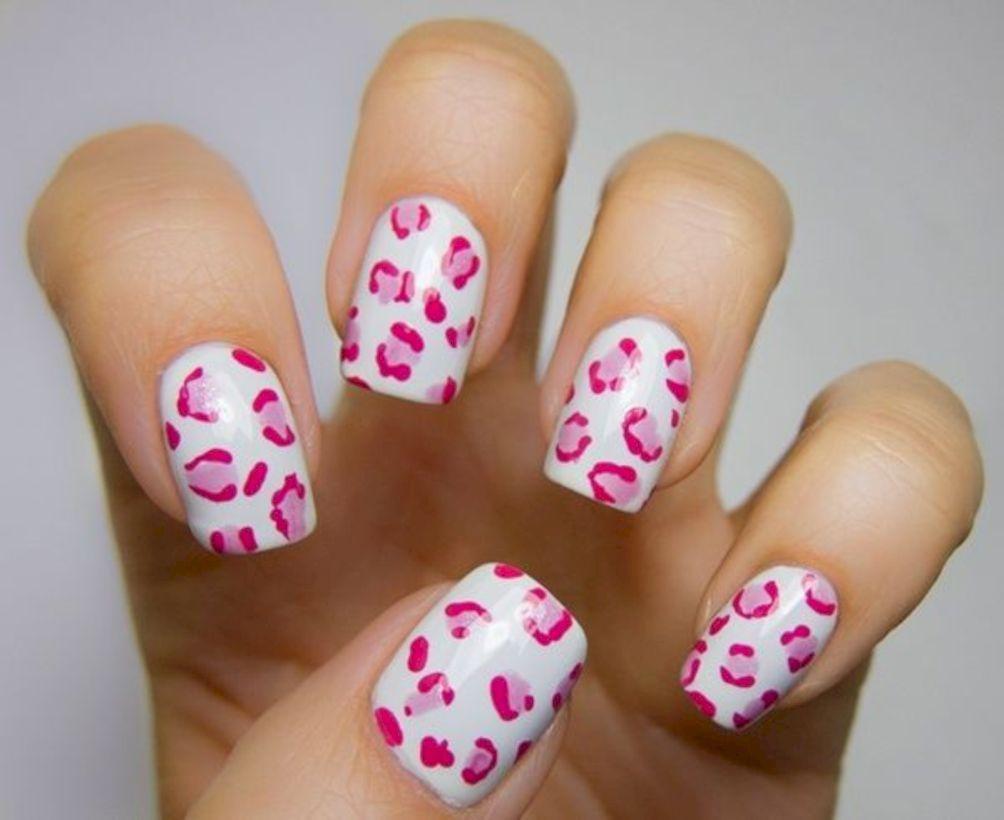 48 Captivating Leopard Cheetah Nail Designs Ideas Cheetah Nail Designs Cheetah Print Nails Pink Leopard Nails