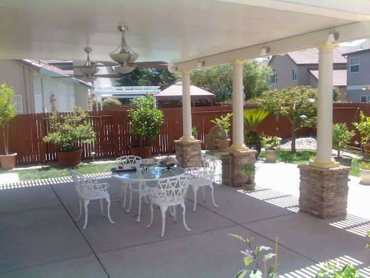 Solid Patio Covers Sierra Sunscreens And Patio Covers