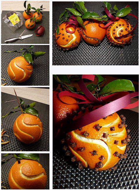 deco noel orange