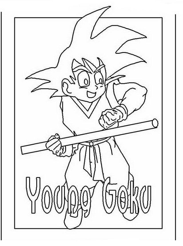 Dragon Ball Z Ausmalbilder. Malvorlagen Zeichnung druckbare nº 31 ...