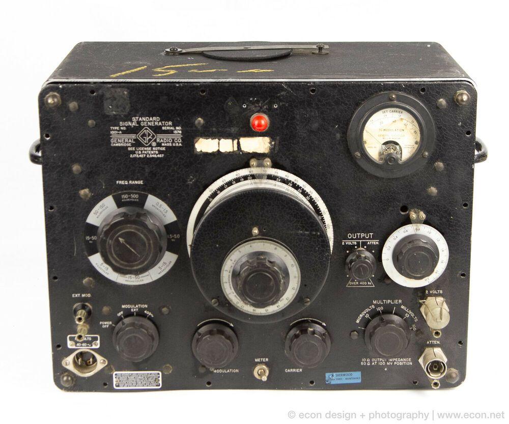 GR General Radio 1001A Standard Signal Generator Vintage