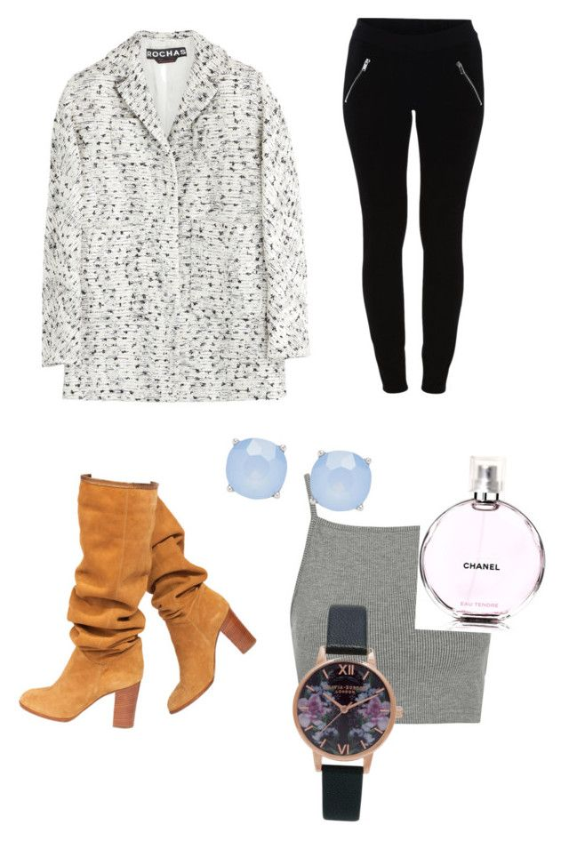 """Winter wonderland"" by vogue-styles2002 ❤ liked on Polyvore featuring Chanel, Rochas, VILA, Topshop, Forever New, women's clothing, women, female, woman and misses"