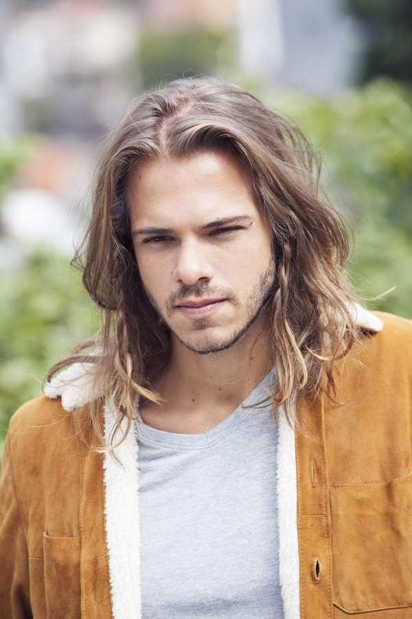 Wonderful Mens Shoulder Length Messy Hair #long #hairstyle #men