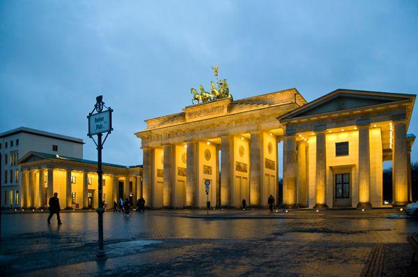 Berlin Brandenburg Gate Brandenburger Tor Porte De Brandebourg Germany Berlin Places