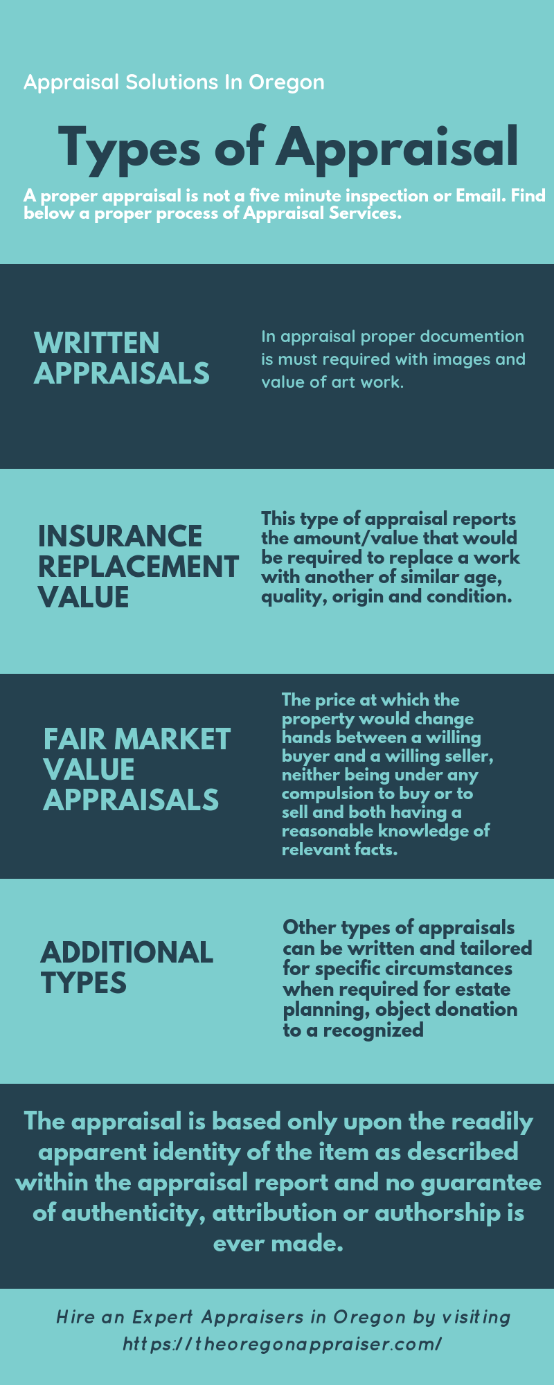 Appraisers Are Experts In Their Respective Area Of Specialization