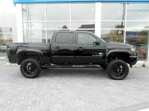 2013 Chevy Silverado Black Widow Lifted Truck By Southern Comfort