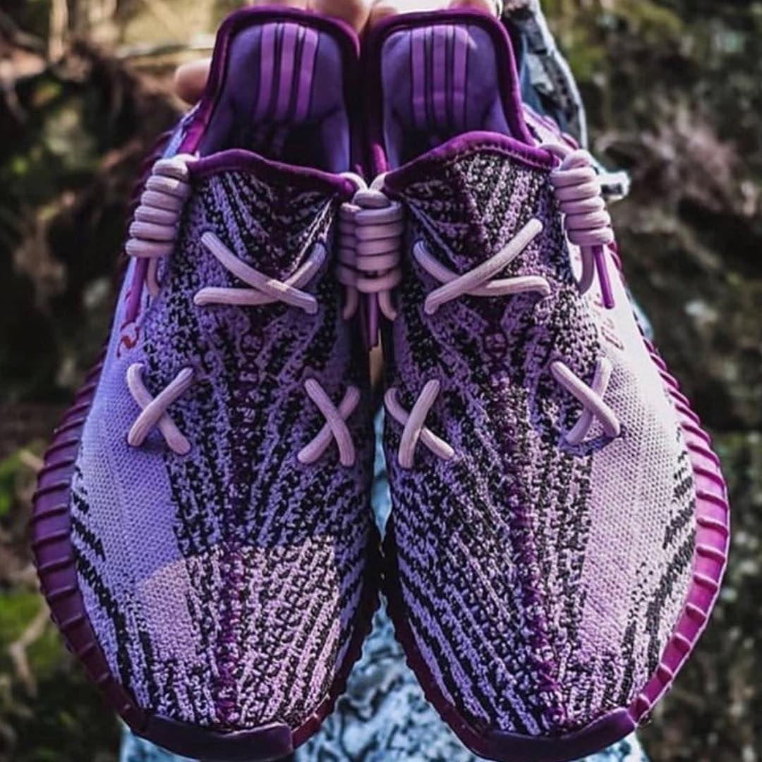 Purple Zebra Yeezy 350 V2 Customs