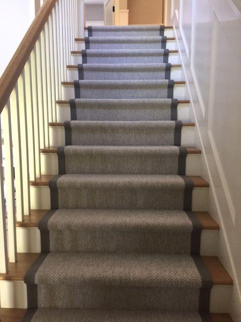 Best Custom Step Runner With Binding Stair Runner Stairs 640 x 480